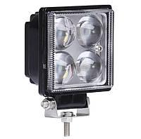 Фара квадратна LED SPOT, точкове світло, робоче світло, дальнє світло 12- 80 В, 12 Вт, 1 шт