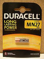A27 Батарейка DURACELL MN27, 1 штука