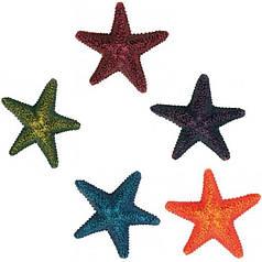 Декорация для аквариума Trixie набор из 12 морских звезд 9 см