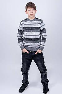 Детский свитер Акмаль (серый) #L/I 1027635510