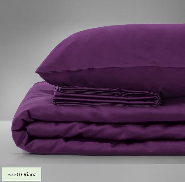 Комплект постельного белья двуспальный 175х210 Сатин 3220 Oriana