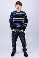 Детский свитер Илья (синий) #L/I 1027634900