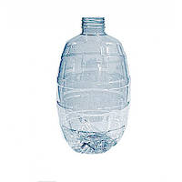 Бутылка ПЭТ бочонок прозрачная 1 л.