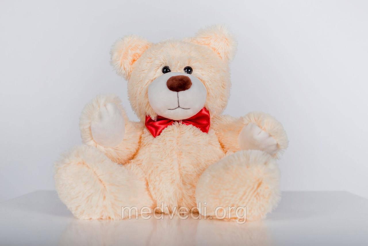 Плюшевый мишка Yarokuz Рональд 35 см Персиковый