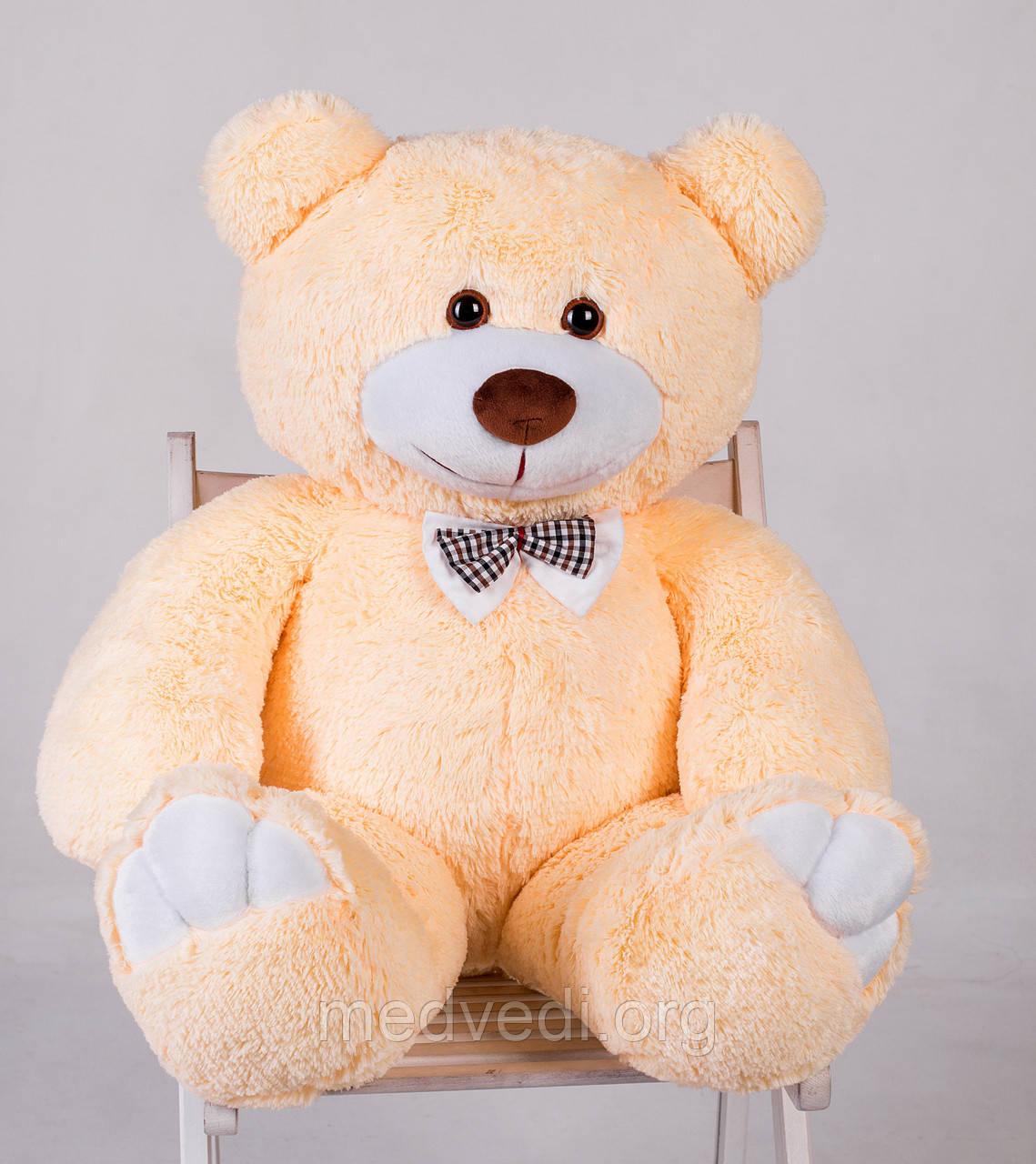 Ведмедик плюшевий Yarokuz Джон 110 см Персиковий