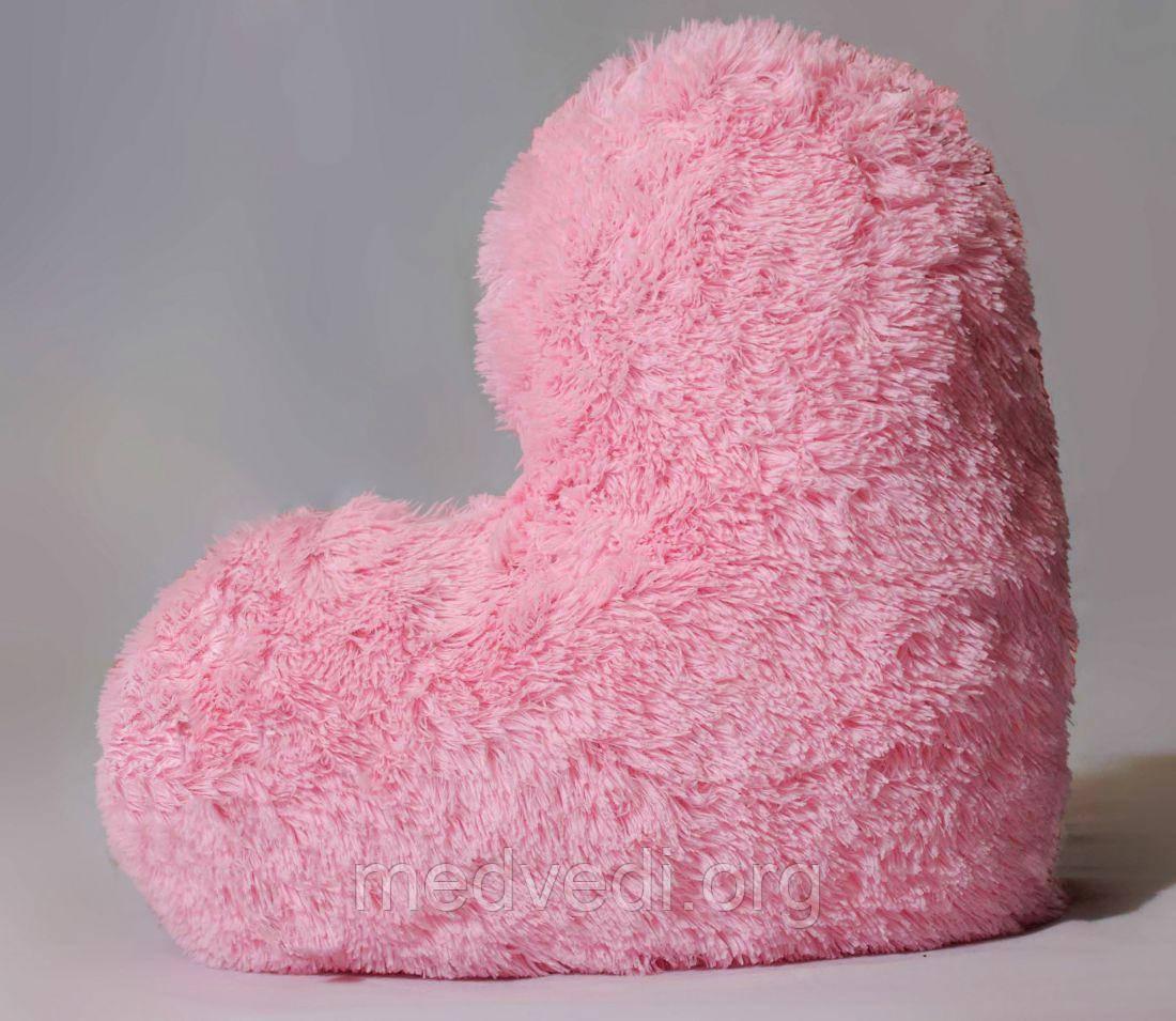 """М'яка іграшка Yarokuz подушка """"Серце"""" 50 см Рожева"""