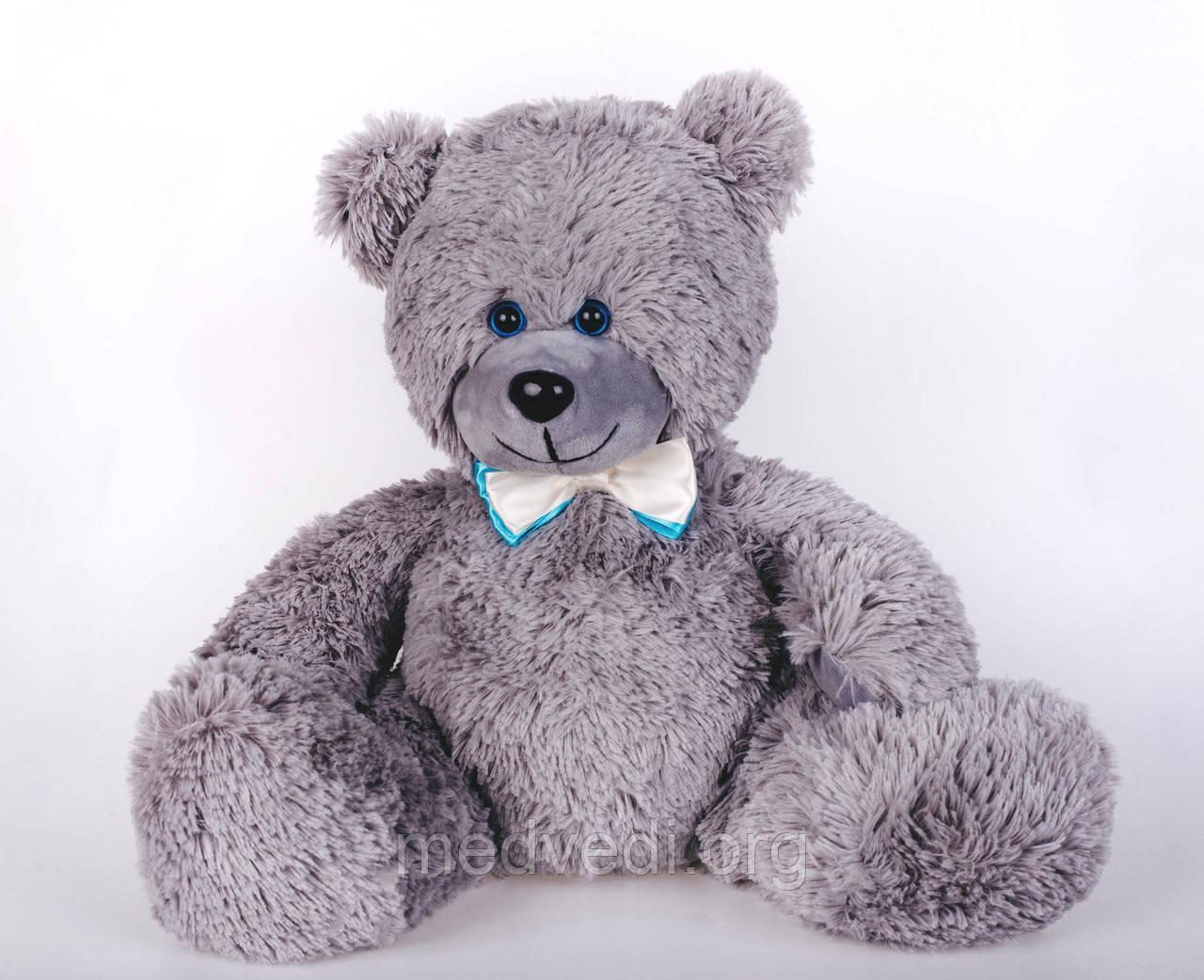 Плюшевий ведмедик Yarokuz Мартін 50 см Сірий