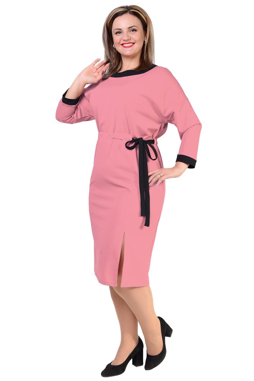 Теплое платье с 50 по 56 размер