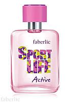 Туалетная вода для женщин Sportlife Active