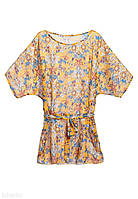 Пляжное платье «Ориентал», цвет желтый, размер M\L (46-48)