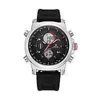 Часы Weide Black WH6403-1C WH6403-1C, КОД: 116224