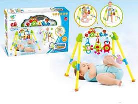 Детский игровой комплекс со светом и звуком YL201-1, подвеска с погремушками напольная