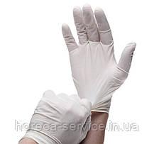 Перчатки Mercator Medical,Латексные,Santex powdered,Нестерильные, Припудренные 50 пар S, фото 3