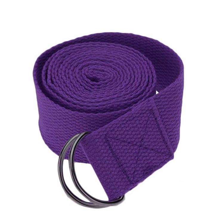 Ремень для йоги MS 1838, длина 1.8 м, ширина 4 см, разн. цвета