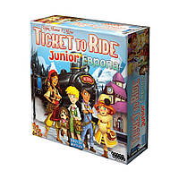 Ticket to Ride Junior: Европа. Настольная игра для детей. Hobby World