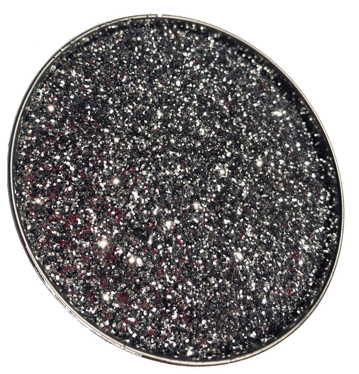 Глиттер серебряный TS001-52, 150мл