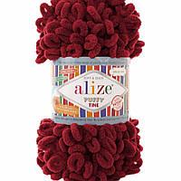 Alize Puffy Fine  вишня №107