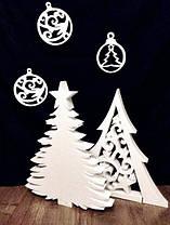 Елка из Пенопласта Декорации на Новый Год 30-100 см Ёлочка Объемная Большая Новогодние Украшения
