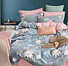 Двухспальное постельное белье ткань Турецкий сатин.