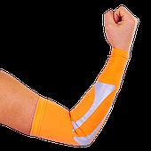 Рукав баскетбольный компресионный 1 шт. спандекс-нейлон размер L оранжевый