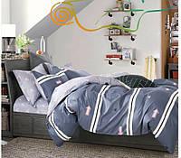 Двоспальне постільна білизна тканина Турецький сатин.