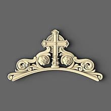 Накладка з хрестом Виноградна лоза