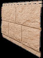 Цокольный сайдинг. Фасадная панель Ю-ПЛАСТ Stone-House Камень золотистый. Стоун хаус камень.Оптом.