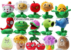 Оригинальная плюшевая игрушка Растения против зомби из игры Plants vs Zombies Цена за 1 игрушку.