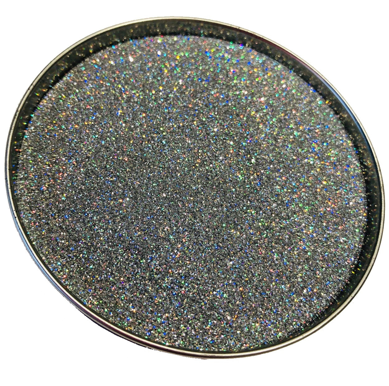 Глиттер  серебро галографическое TL001-128, 150мл