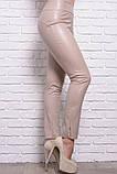 Кожаные брюки моделирующие фигуру 42-60р, фото 2
