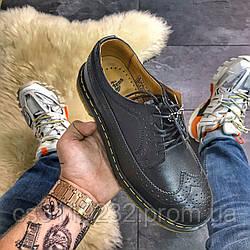 Чоловічі класичні туфлі Dr Martens 3989 (чорний)