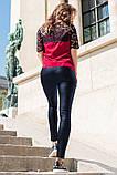 Кожаные брюки моделирующие фигуру 42-60р, фото 8
