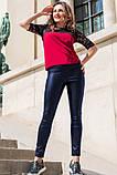 Кожаные брюки моделирующие фигуру 42-60р, фото 9
