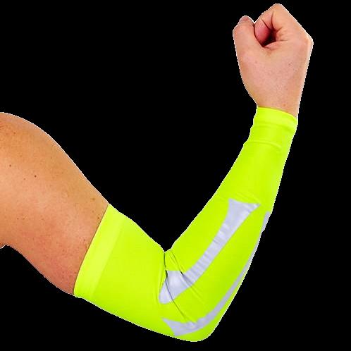 Рукав баскетбольный компресионный 1 шт. спандекс-нейлон размер L желтый