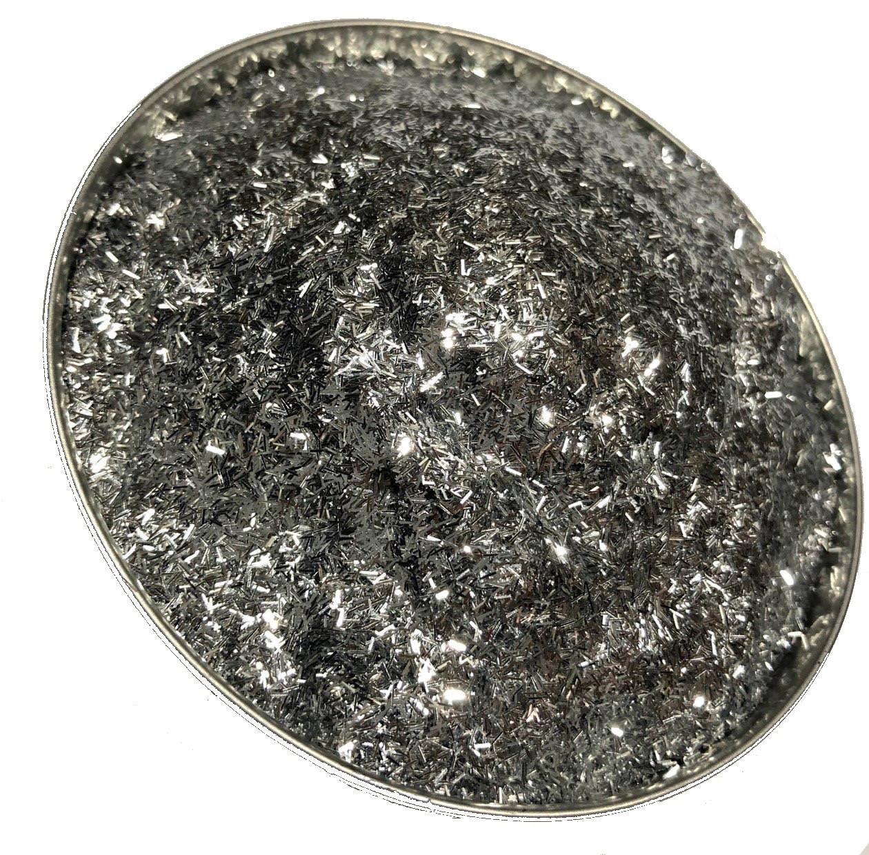 Глиттер Серебро, TS001-0,2*1,5,  150мл
