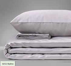 Комплект постельного белья двуспальный 175х210 Сатин 0251 Skyline