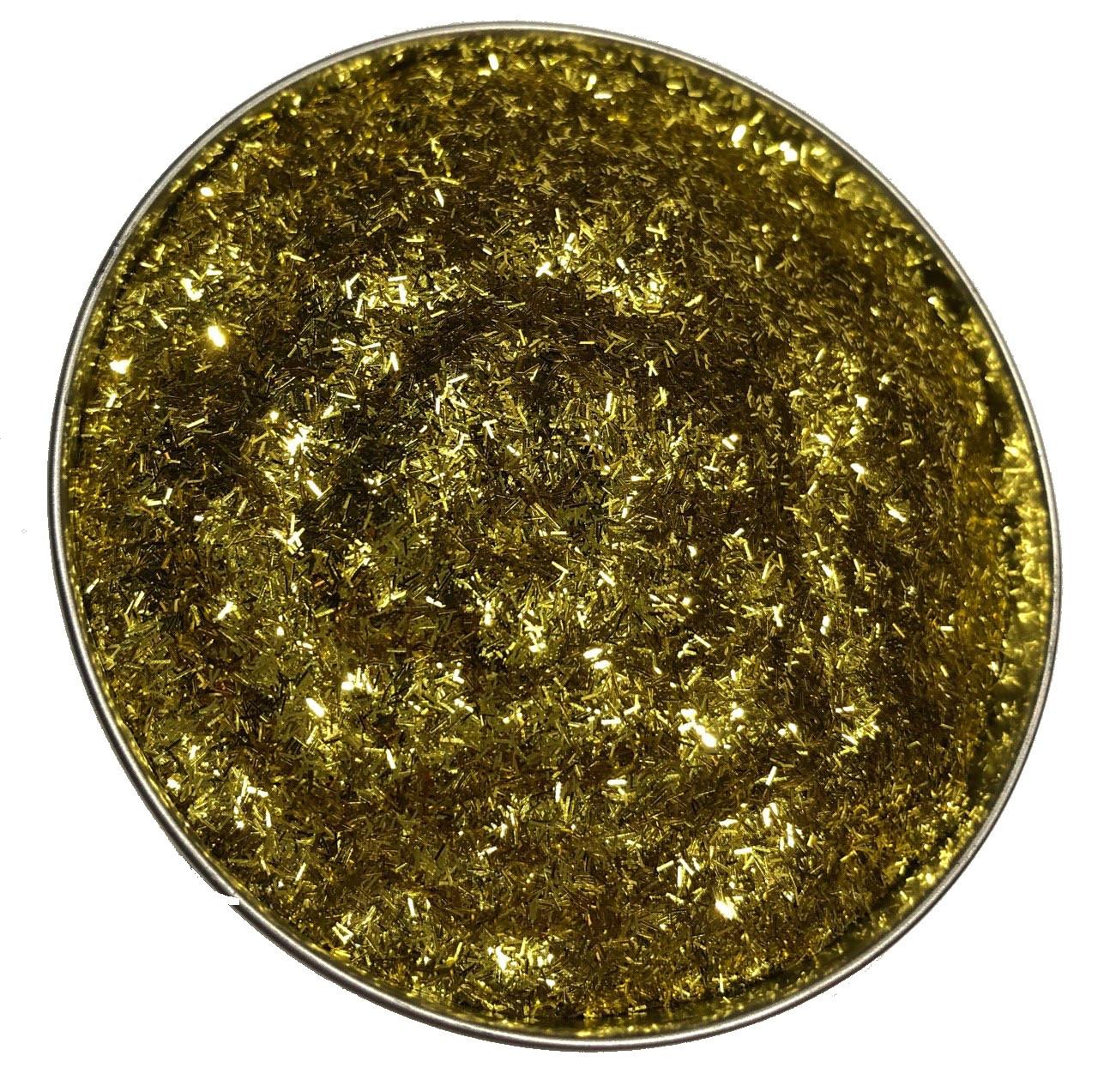 Глиттер золотой TS105 0.2*1.5 (150мл)