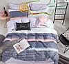 Красивое качественное постельно белье евро размер. Ткань люкс сатин.