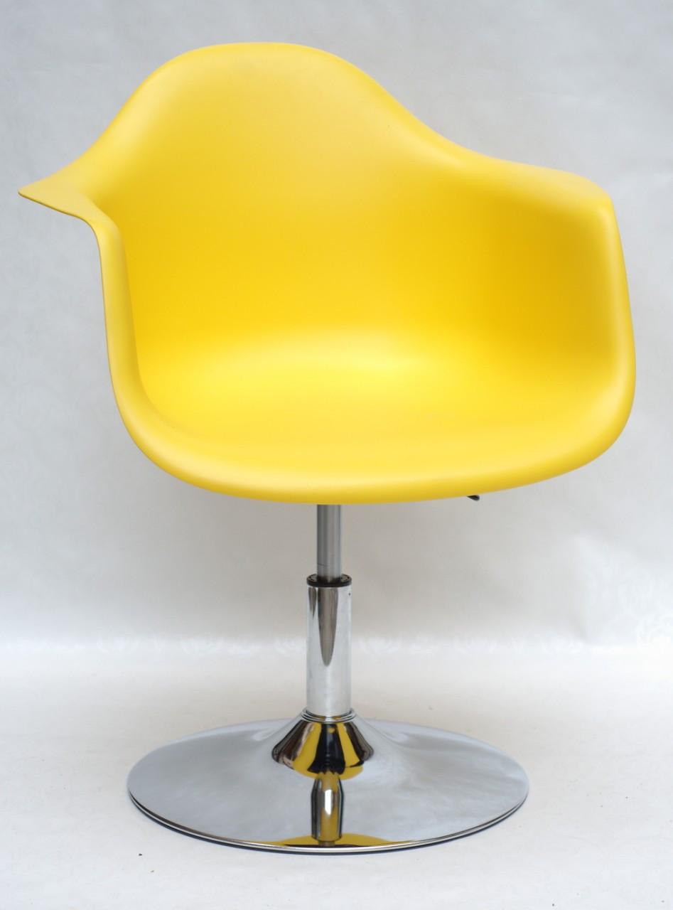 Стул Leon C Base, желтый