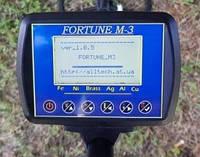 Блок электронный металлоискателя Фортуна М3/Fortune M3 корпус PL2943, большой ЖК-дисплей 7*4 Winstar