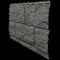 Цокольный сайдинг. Фасадная панель Ю-ПЛАСТ Stone-House Камень изумрудный. Стоун хаус камень.Оптом.