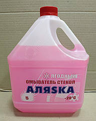 Омивач скла зимовий -20C (5л)(Ягода) Dacia Solenza (Аляска 5360)