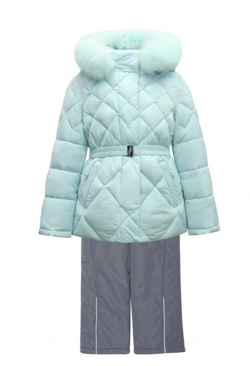 Дитячий зимовий комбінезон для дівчинки від Donilo 4558, 86-104