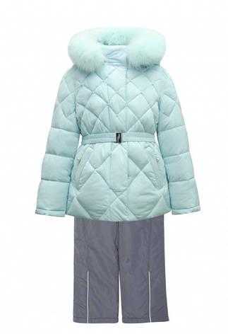 Дитячий зимовий комбінезон для дівчинки від Donilo 4558, 86-104, фото 2