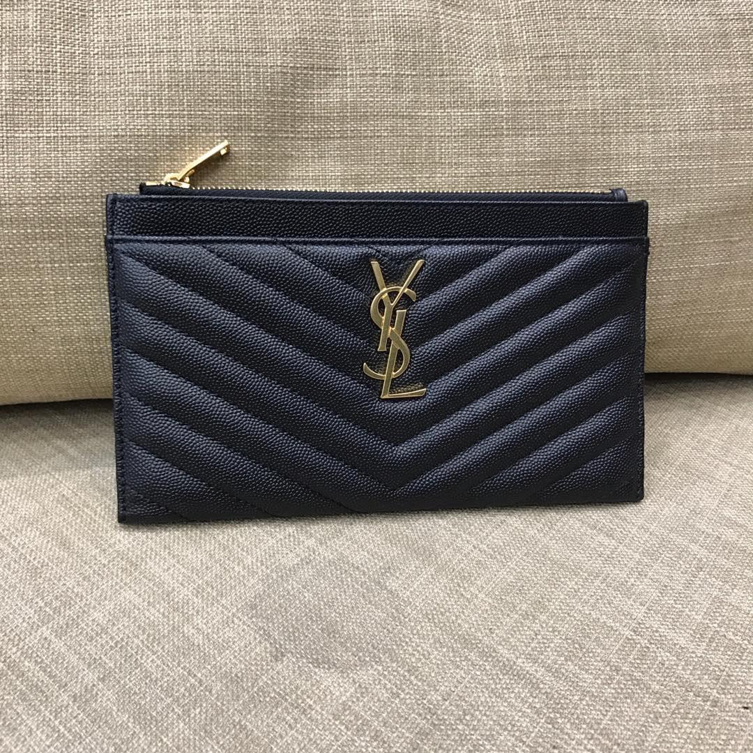 Кошелек Yves Saint Laurent кожаный