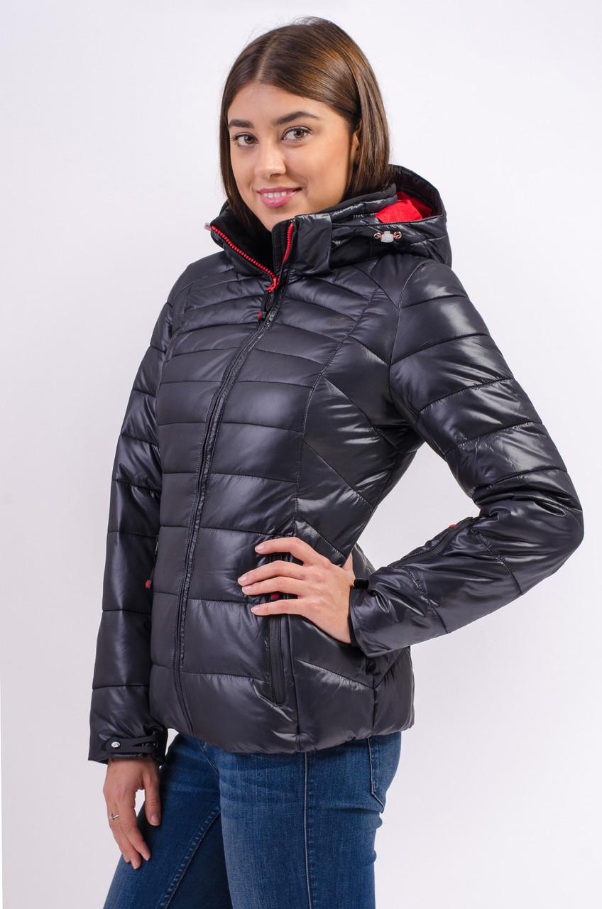 Зимняя куртка женская Avecs 7749268 черный