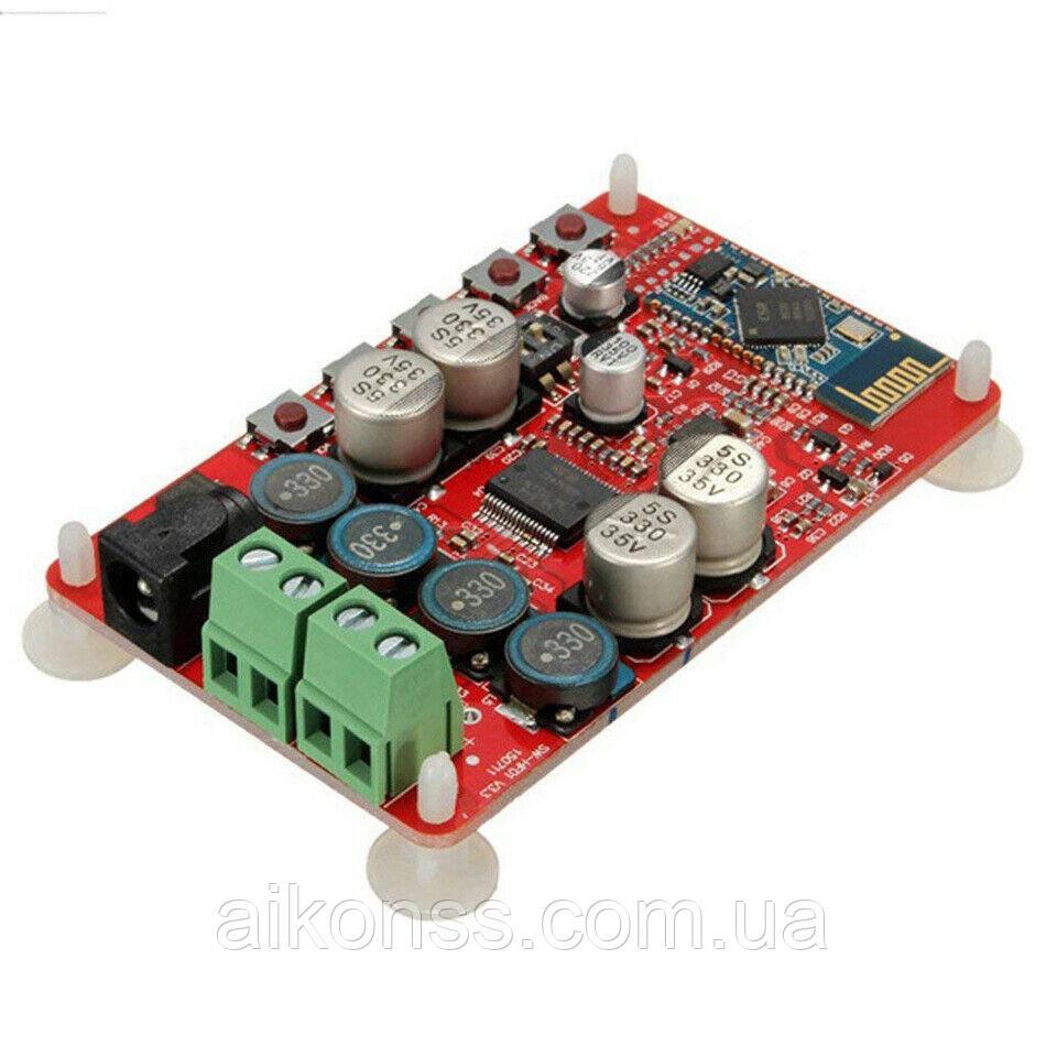 УНЧ 2 X 50W TDA7492P Bluetooth 4.0 CSR8635 Audio Цифровий потужний підсилювач звуку