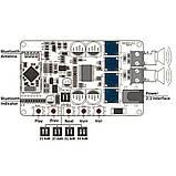 УНЧ 2 X 50W TDA7492P Bluetooth 4.0 CSR8635 Audio Цифровий потужний підсилювач звуку, фото 3