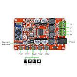 УНЧ 2 X 50W TDA7492P Bluetooth 4.0 CSR8635 Audio Цифровий потужний підсилювач звуку, фото 2