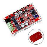 УНЧ 2 X 50W TDA7492P Bluetooth 4.0 CSR8635 Audio Цифровий потужний підсилювач звуку, фото 5